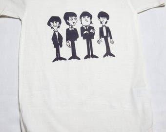 BOS-59 Beatles Baby Onesie