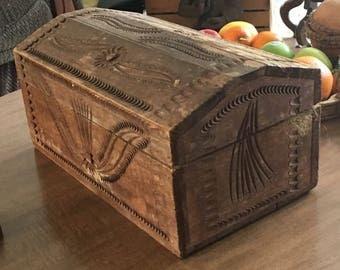Handmade box, medium box, vintage box, Collectable box, unique box, home decor