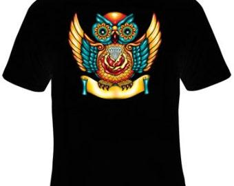 Owl T-Shirt Women's Sizes