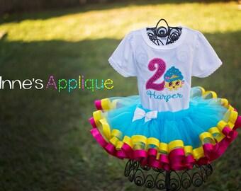 Shop Toys Cupcake Queen Birthday Tutu Set Blue Pink Yellow