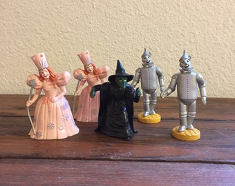 Wizard of Oz Collectible Toy / Glenda the Good Witch / The Wicked Witch of the West / The Tinman / MGM
