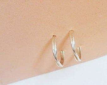 Mini silver rings