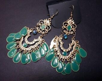 Chandelier Earrings, Women's Earrings, Vintage Earrings, Bohemian Earrings, Vintage Jewelry, Dangle Earrings, Antique Jewelry, Earrings,