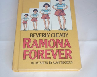"""Vintage Beverly Cleary """"Ramona Forever"""" Hardcover Book 1984"""