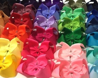 4 inches boutique hair bows for girls, twisted hairbows for toddlers, sale hair bows, girls hair bows for babys, baby bow, toddler bow