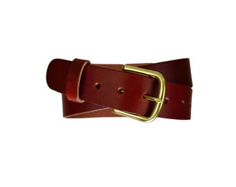 Handmade Leather Belt, Custom Leather Belt, Leather Belt
