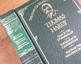 Treasury of World Masterpieces ~ Thomas Hardy: Tess of the d'Urbervilles, The Mayor of Casterbridge, Far from the Madding Crowd, 1982