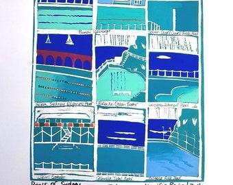Pools of Sydney.