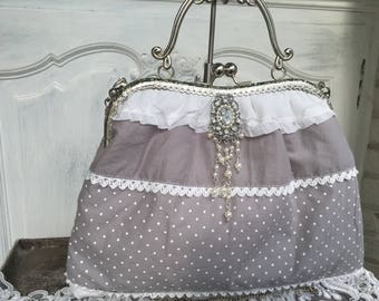 Bag, retro, vintage, shabby