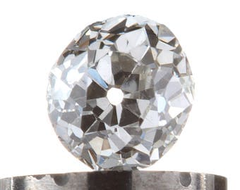 Diamond loose old mine cut .29 carat antique vintage |  antique cushion cut diamond | i  J | VS2 / Si1  |  | circa 1800's or before