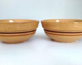 Vintage Ceramic USA 009 Soup Cereal Bowls