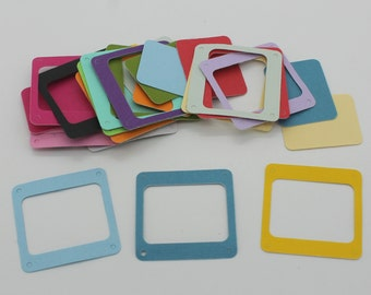 Slide: set of die - cut cut-outs