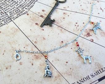 Marauders Charm Bracelet