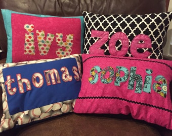 Custom Name Pillow