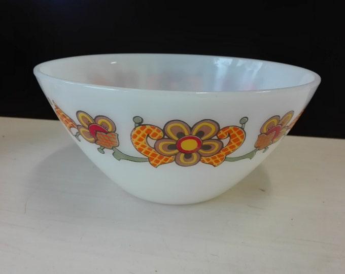 Jena - schott mainz - bowl, floral design
