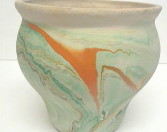 Nemadji Pottery vase/planter