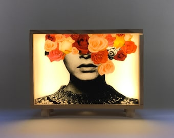 #Twiggy light box