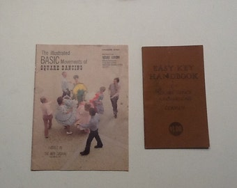 Vintage Square Dance Handbook / Two Square Dance Instruction Booklets / Square Dance How To