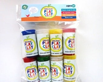 Organic Play Clay 8-Pack