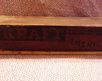1930's Kraft cheese box
