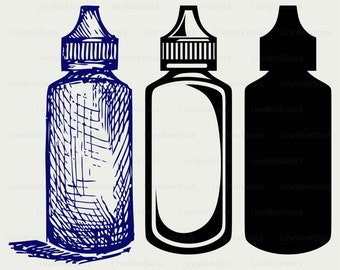 Hygiene products svg,clipart,bottles svg,plastic silhouette,hygiene cricut cut files,bottles clip art, digital download designs,svg,dxf