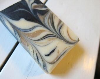 Apricot Charcoal Goat's Milk Soap