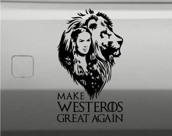 Make Westeros Great Again Decal