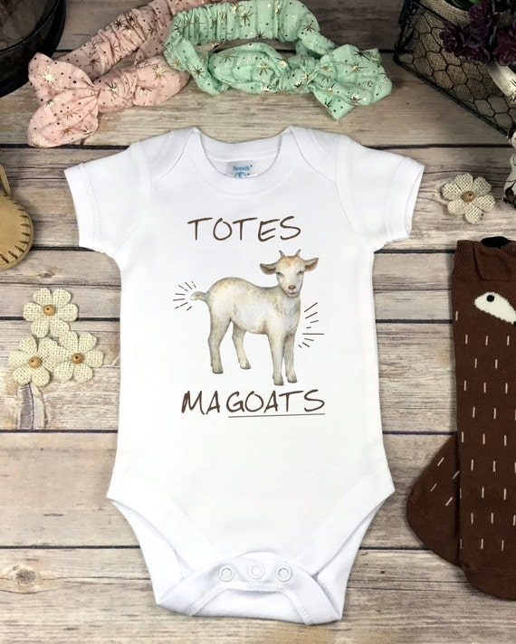 Goat esies Brand or Carter s Bodysuit Totes Ma Goats