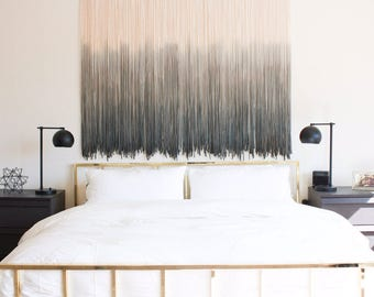 Giant Single color Tapestry / made to order