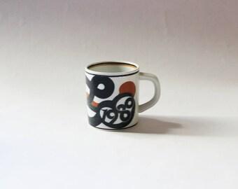 Royal Copenhagen Annual Mug 1980 by Maria Trolle, Small