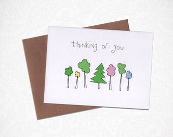 Thinking of You Greetimg Card!
