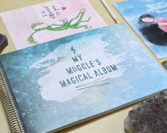 Muggle's Magical Album — photo album for Harry Potter fans | potterhead gift scrapbook