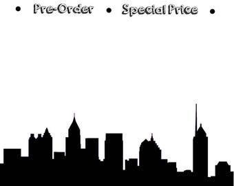 Atlanta Cityscape - Skyline Statement Ring - Mothers Day Gift - Gift for Her - Birthday Gift - Shekhtwoman - Best Seller