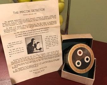 1930's Macon Detector Stamp Watermark Viewer