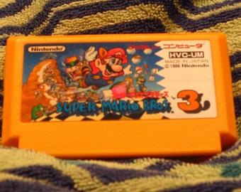 Super Mario Bros 3 HVC UM Nintendo Famicom
