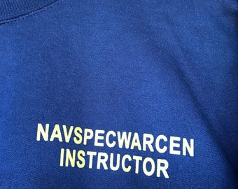 US Navy SEAL Special Warfare Center Instructor Sweatshirt