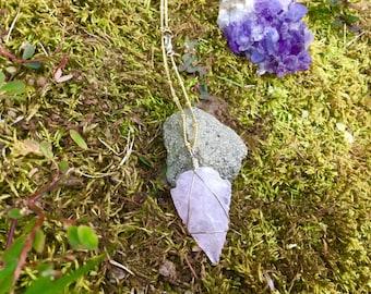 Rose Quartz arrowhead