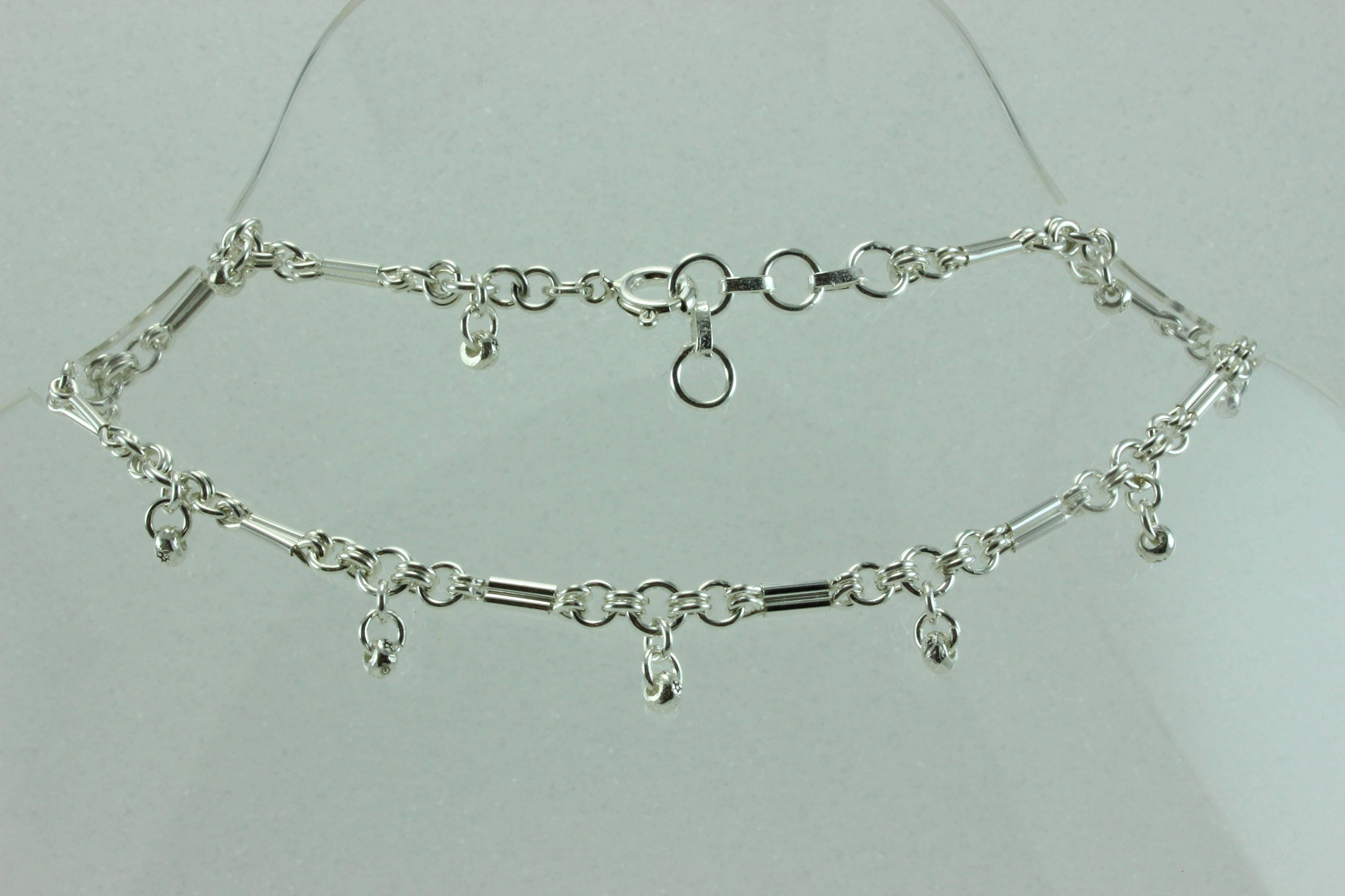 popular zirconia anklets brilliant crafted cubic clr anklet bracelet and inlays sterling classic hand with expert products this chain ankle silver is adorned a bracelets ca link heart by in polished shaped clear romantic designed details