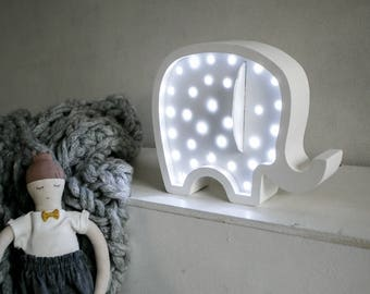 Elephant Nightlight