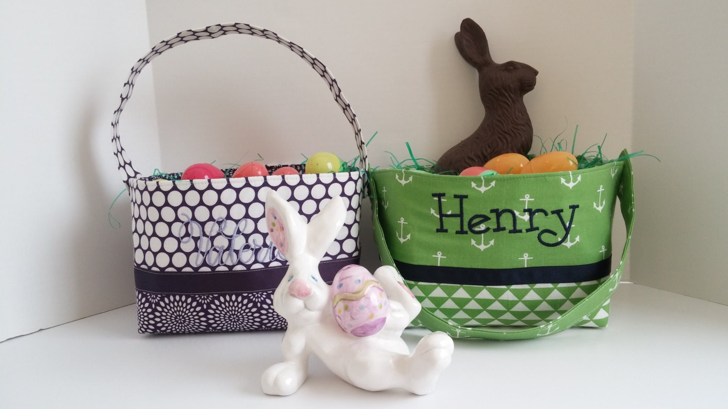 Personalized Easter Basket Personalized Basket Easter