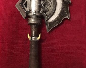 3D Printed Durotan Warhammer Axe
