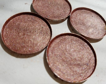 SUNSET BLVD.A Mauve Rose with pinky red Undertone Foiled Eye shadow 26mm Pan size