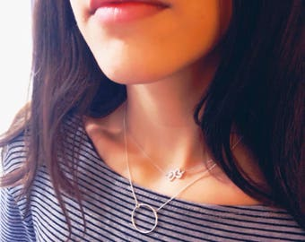 Buterfly necklace, dainty necklace, zc silver necklace, minimal necklace, for her, valentine's day, valentine's day gift