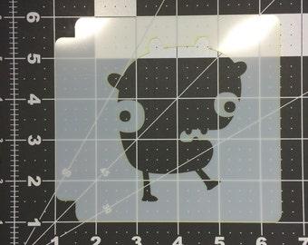 Monster Stencil 104