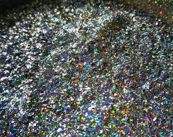 Cosmic Glows: GALACTIC-X ultra holo flakie galaxy unicorn pigment