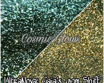 Ultranova super chromatic shift glitters: Gaia's Gem