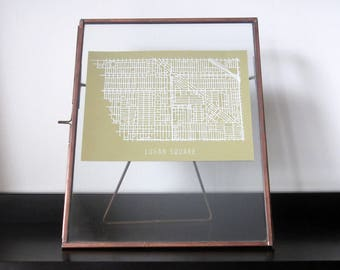 Chicago Neighborhood Map - Logan Square