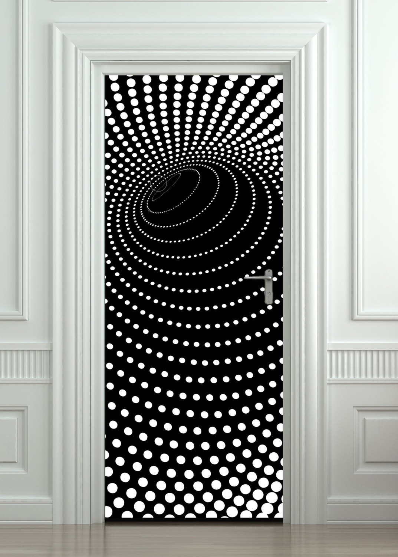 sticker mural porte porte autocollant murale porte porte. Black Bedroom Furniture Sets. Home Design Ideas