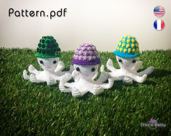 Pattern - Friendly Octopus Pilou