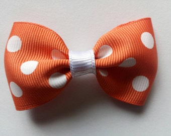 """2.5"""" Orange (or another color) Bow 